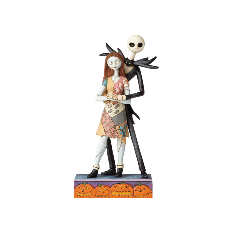 Disney Traditions by Jim Shore Fated Romance - Jack & Sally Figurine