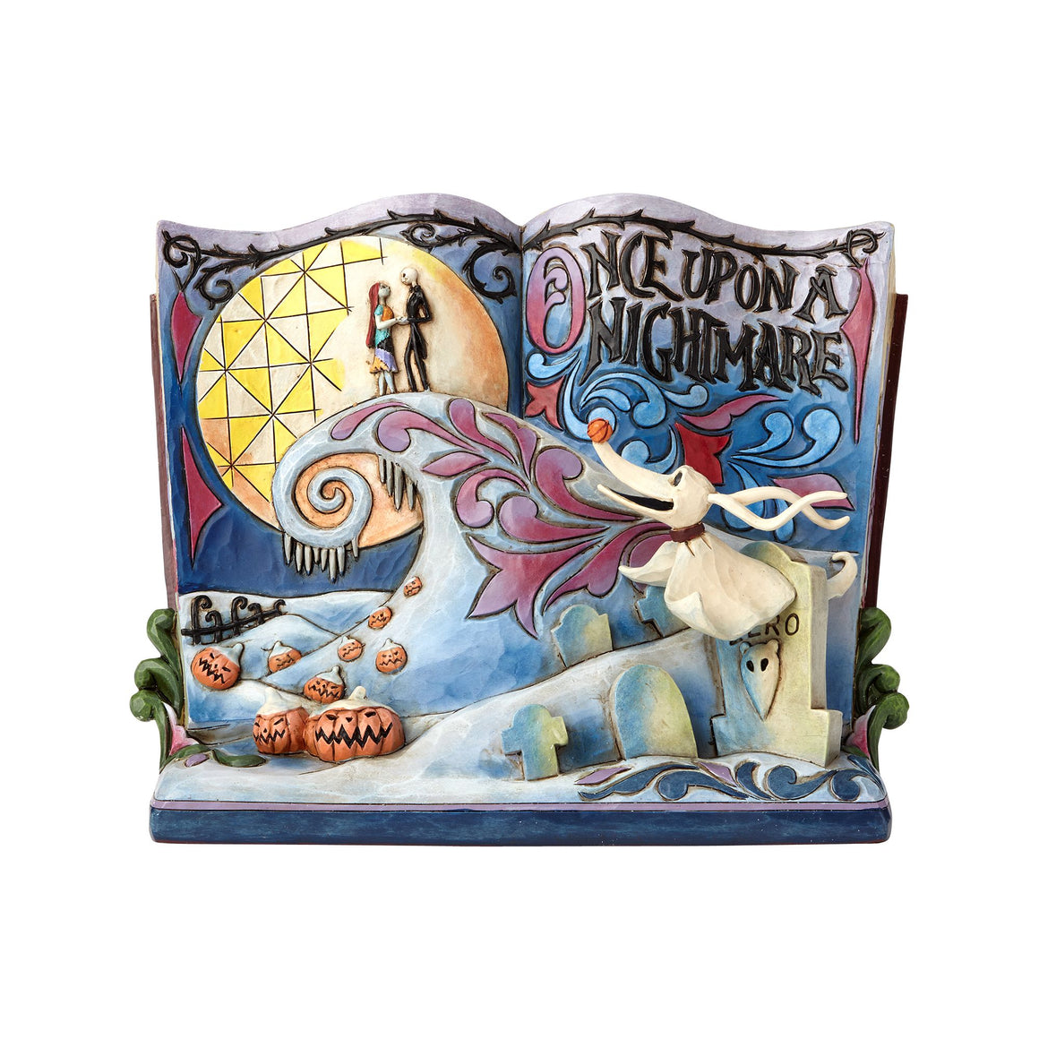 Once Upon A Nightmare (Storybook Nightmare Before Christmas Figurine)- Disney Traditions by Jim Shore