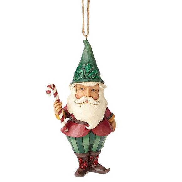 Heartwood Creek by Jim Shore Winter Wonderland Santa Gnome - Hanging Ornament