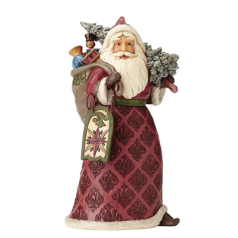 Heartwood Creek by Jim Shore Dreaming of Christmas Past - Victorian Santa Figurine