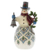 Jim Shore Bright & Merry (Victorian snowman) Figurine