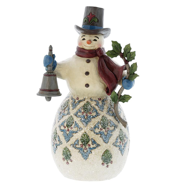 Heartwood Creek by Jim Shore Bright & Merry - Victorian snowman Figurine