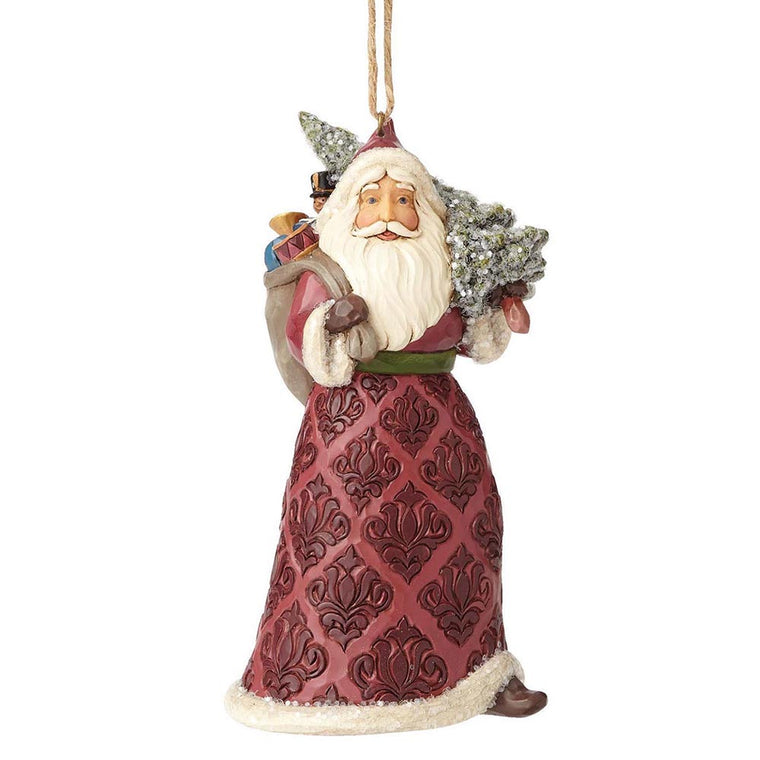 Heartwood Creek by Jim Shore Victorian Santa - Hanging Ornament