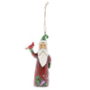 Jim Shore Folklore Santa With Bird (Hanging ornament)