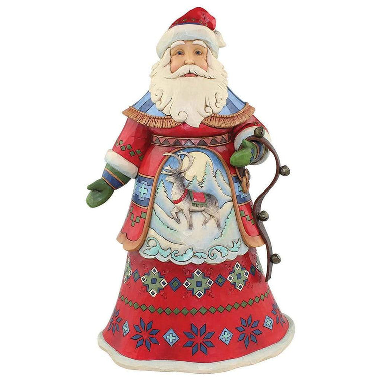 Joyful Journey - Santa Figurine - Heartwood Creek by Jim Shore