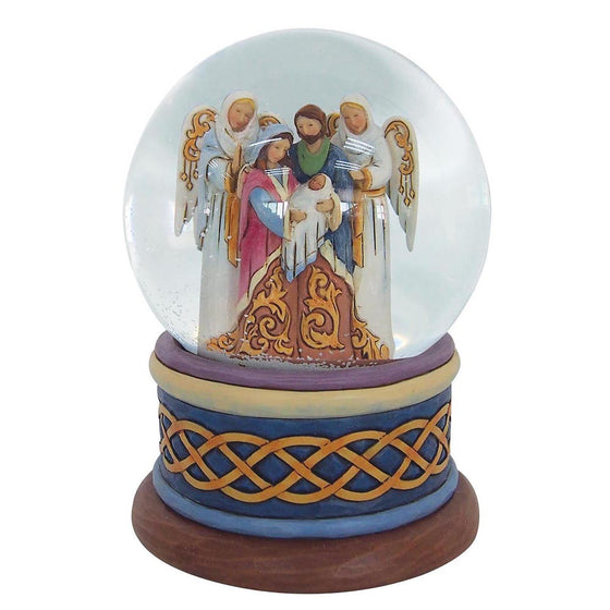 Heartwood Creek by Jim Shore Behold The Good News of Great Joys - Nativity Waterball