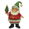 Jim Shore Mini Santa Figurine