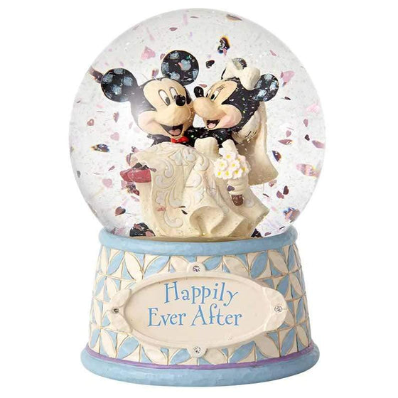 Disney Traditions by Jim Shore Happily Ever After - Mickey & Minnie - UK & Eire Website Exclusive