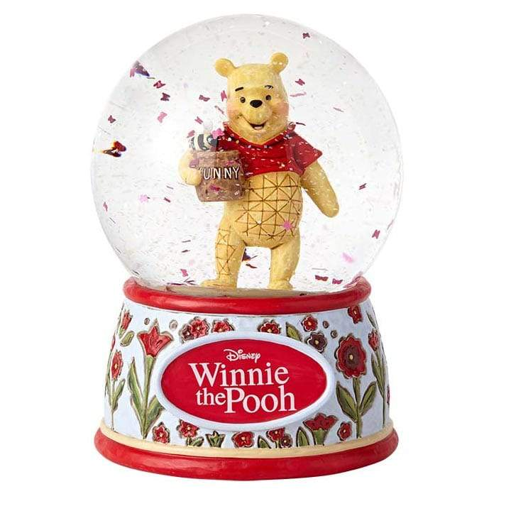 Disney Traditions by Jim Shore Silly Old Bear - Winnie the Pooh Waterball - Website Exclusive