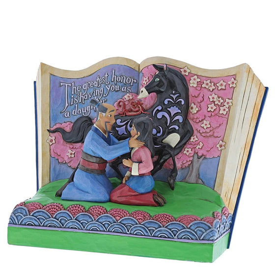 The Greatest Honor is You - Mulan Figurine - Disney Traditions by Jim Shore