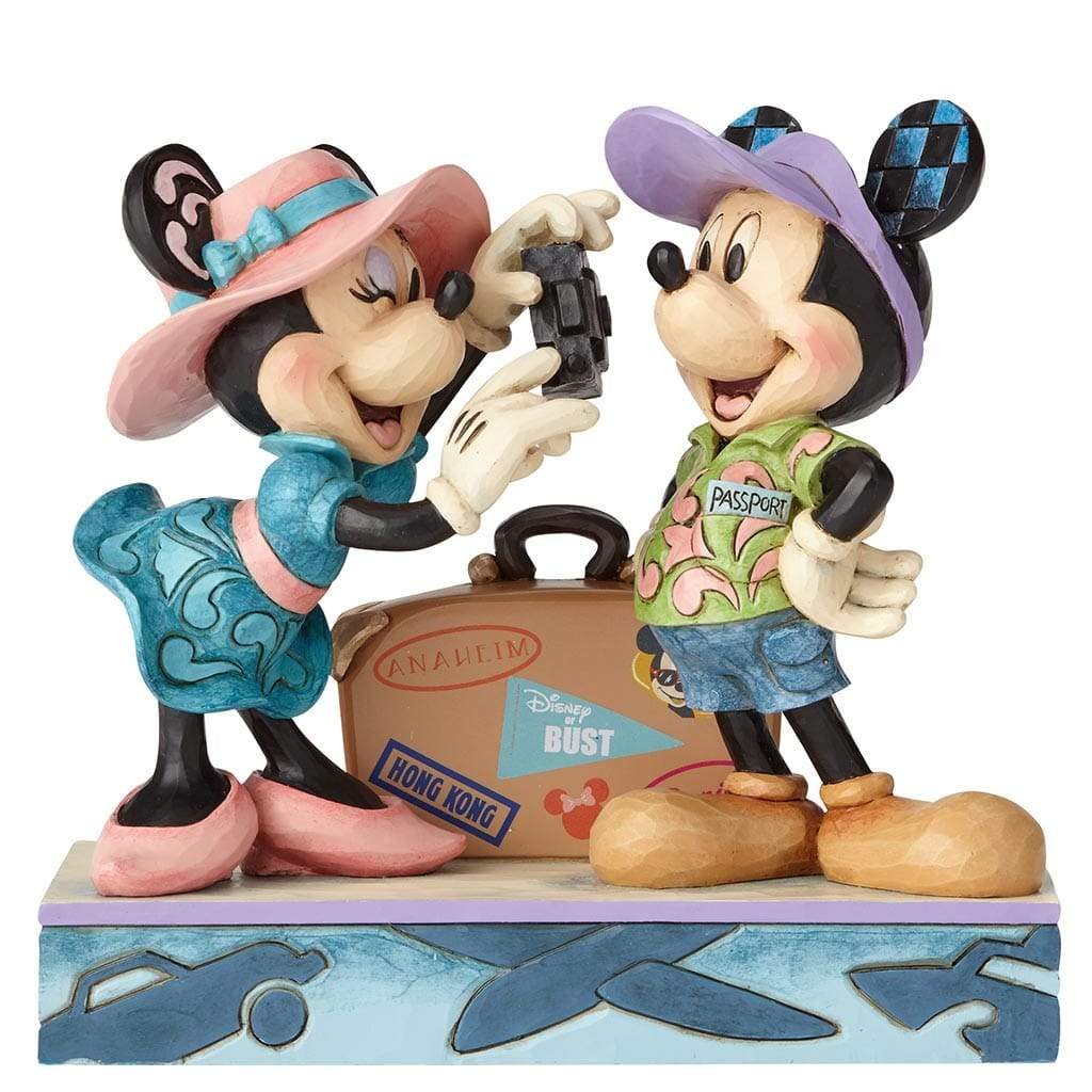Disney Traditions by Jim Shore Adventure Awaits - Mickey & Minnie Figurine - Website Exclusive