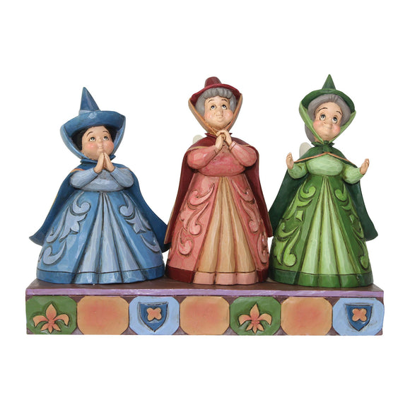 Royal Guests - Three Fairies Figurine - Disney Traditions by Jim Shore
