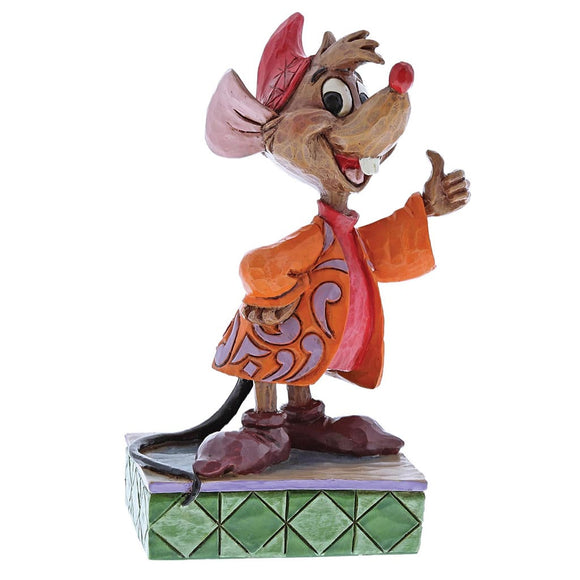 Disney Traditions Thumbs Up (Jaq Figurine)