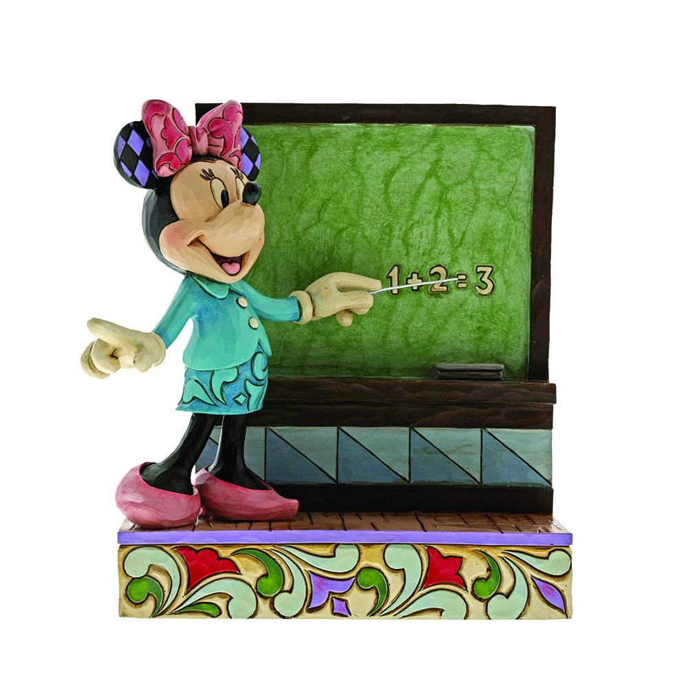 Disney Traditions by Jim Shore Class Act - Minnie Figurine - Website Exclusive