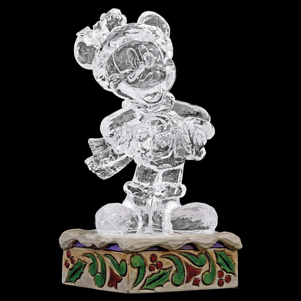 Disney Traditions Ice bright Mickey Mouse Figurine