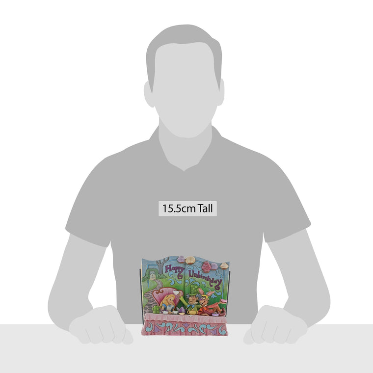 Happy Unbirthday - Storybook Alice Figurine - Disney Traditions by Jim Shore
