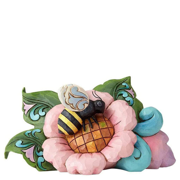 Heartwood Creek by Jim Shore Bumblebee Mini Figurine - Website Exclusive