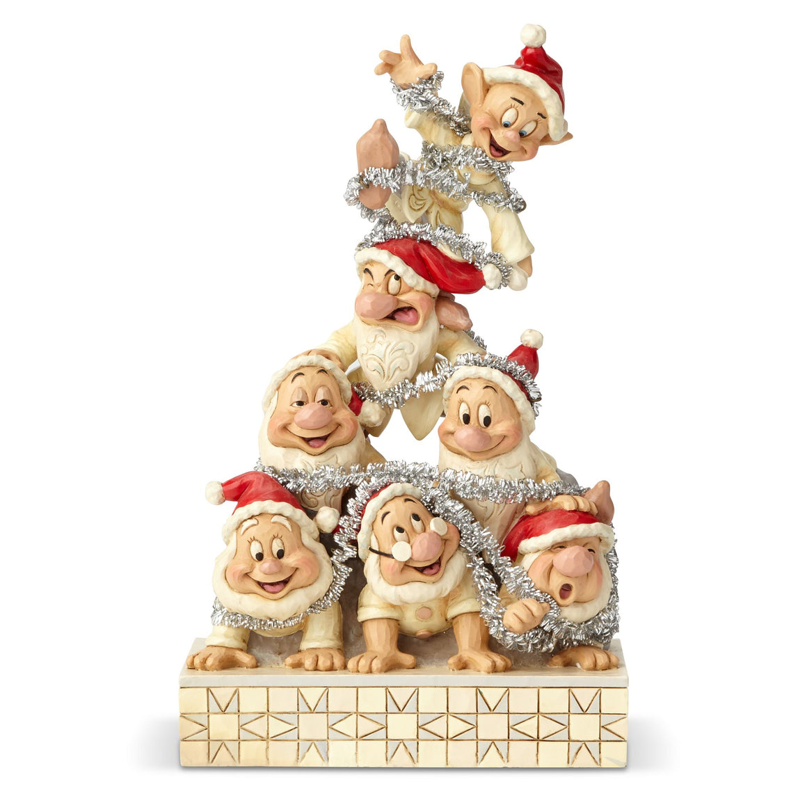 Disney Traditions by Jim Shore Precarious Pyramid - Seven Dwarfs Figurine