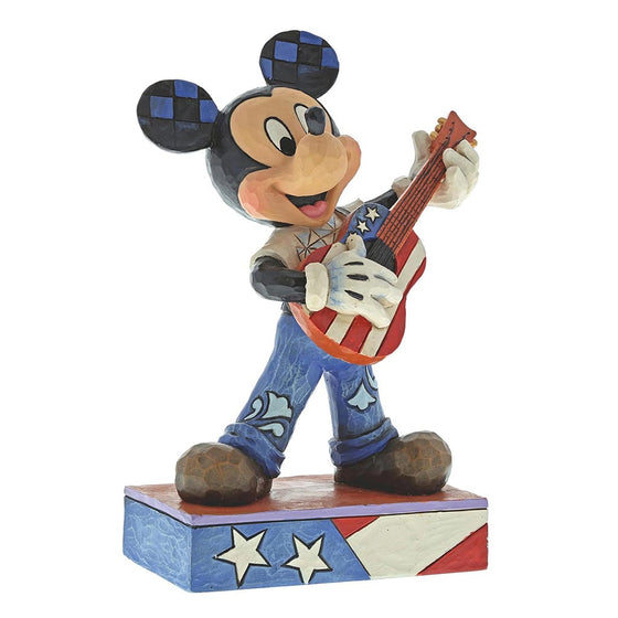 Rock and Roll - Mickey Mouse Figurine - Disney Traditions by Jim Shore
