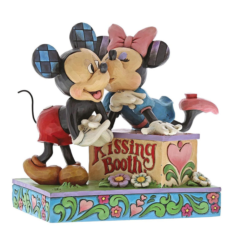 Disney Traditions Kissing Booth - Mickey & Minnie Figurine