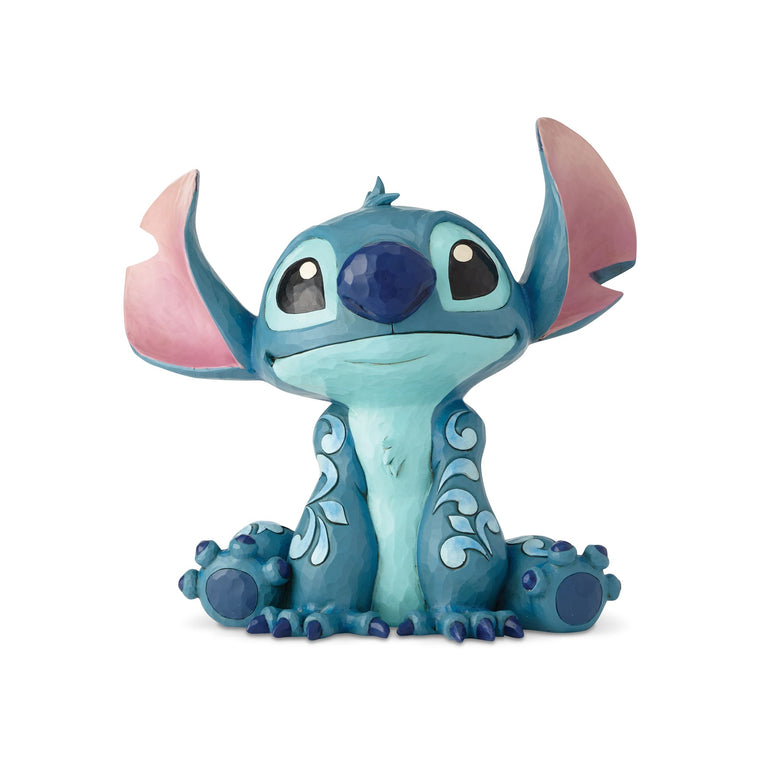 Big Trouble - Stitch Statement Figurine - Disney Traditions by Jim Shore