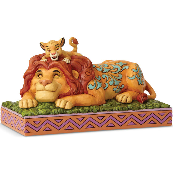 A Father's Pride - Simba & Mufasa Figurine - Disney Traditions by Jim Shore