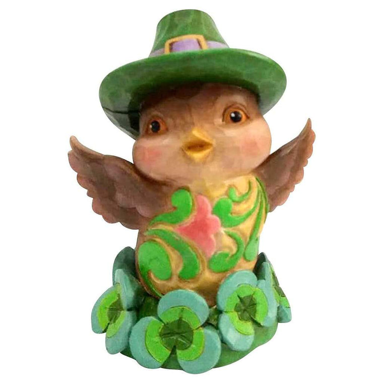 Heartwood Creek By Jim Shore Irish Bird Mini Figurine - Website Exclusive
