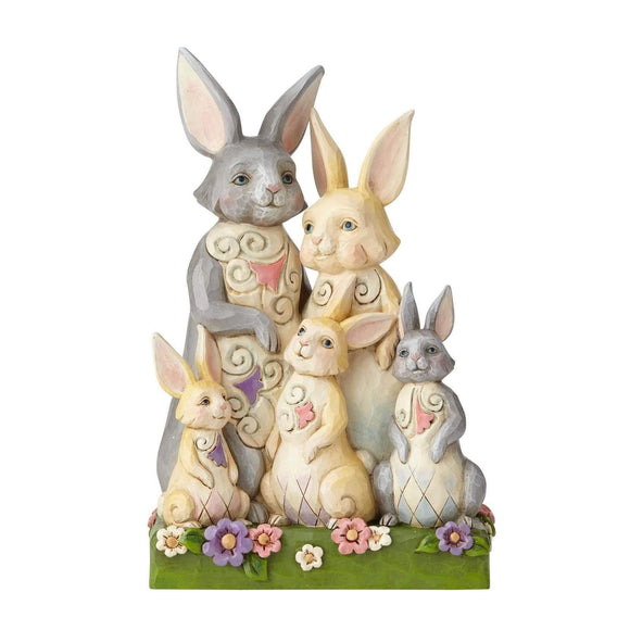 Heartwood Creek by Jim Shore Bunny Family Figurine - UK & Eire Website Exclusive