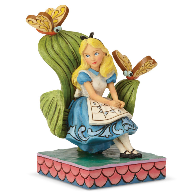 Curiouser and Curiouser - Alice Figurine - Disney Traditions by Jim Shore