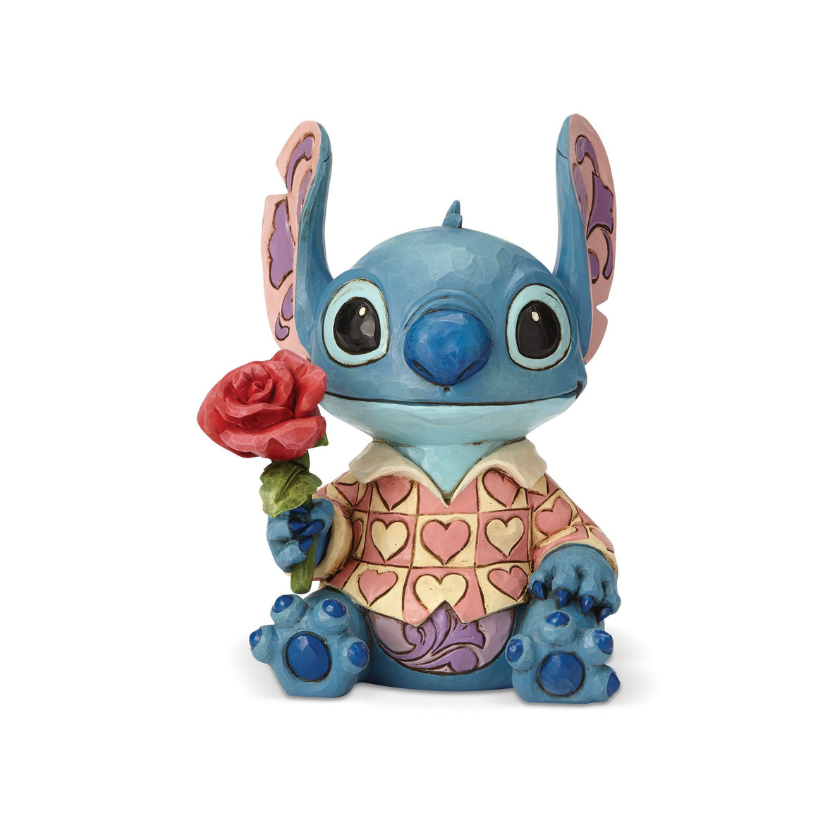 Disney Traditions by Jim Shore Clueless Casanova - Stitch Figurine