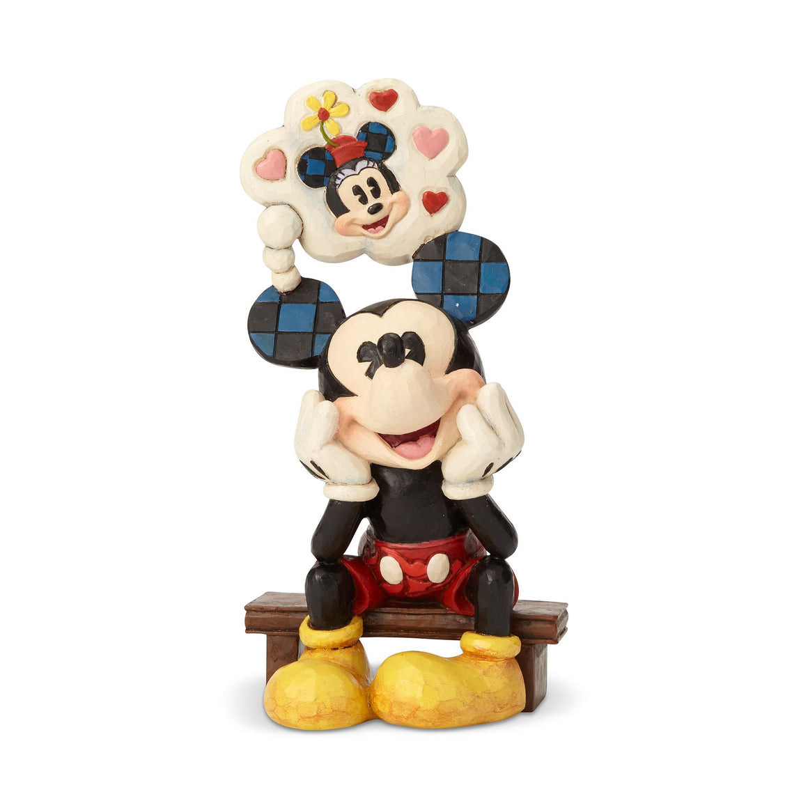 Thinking of You - Mickey Mouse Figurine - Disney Traditions by Jim Shore