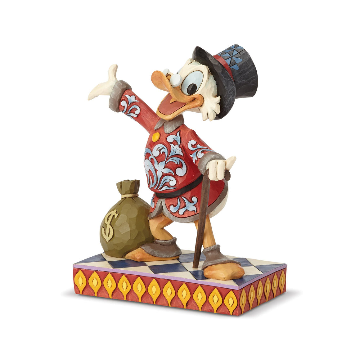 Treasure Seeking Tycoon - Scrooge Figurine - Disney Traditions by Jim Shore