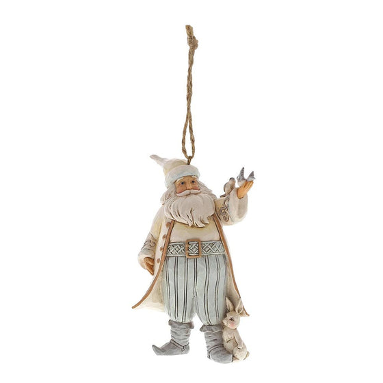 Heartwood Creek by Jim Shore Woodland Santa Ornament
