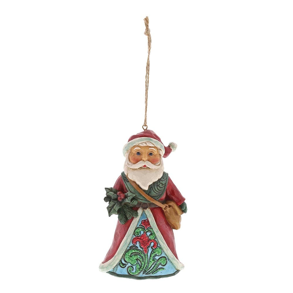 Heartwood Creek by Jim Shore Wonderland Santa Ornament
