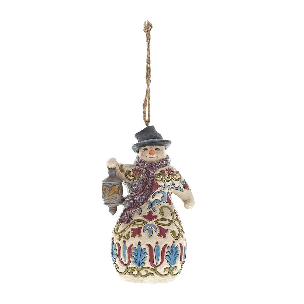Heartwood Creek by Jim Shore Victorian Snowman - Hanging Ornament