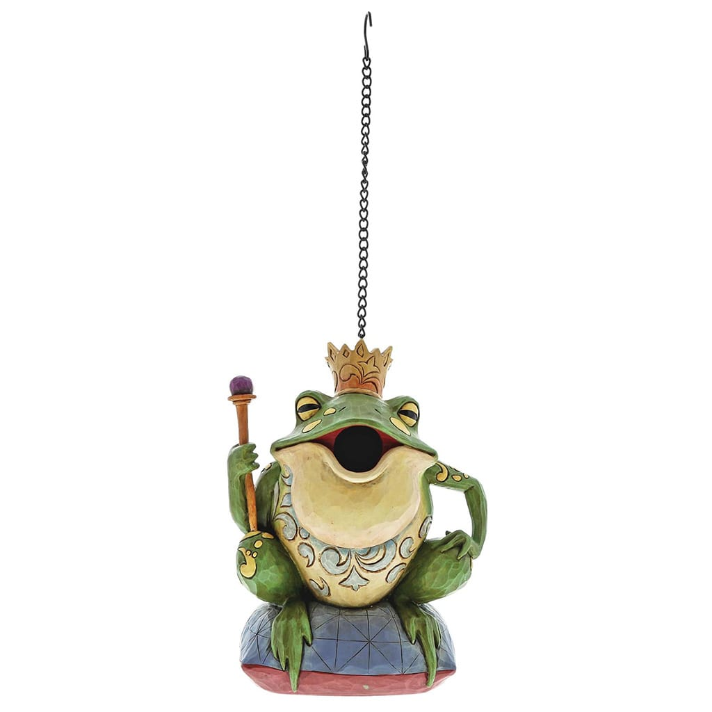 Heartwood Creek by Jim Shore Frog Prince Bird house