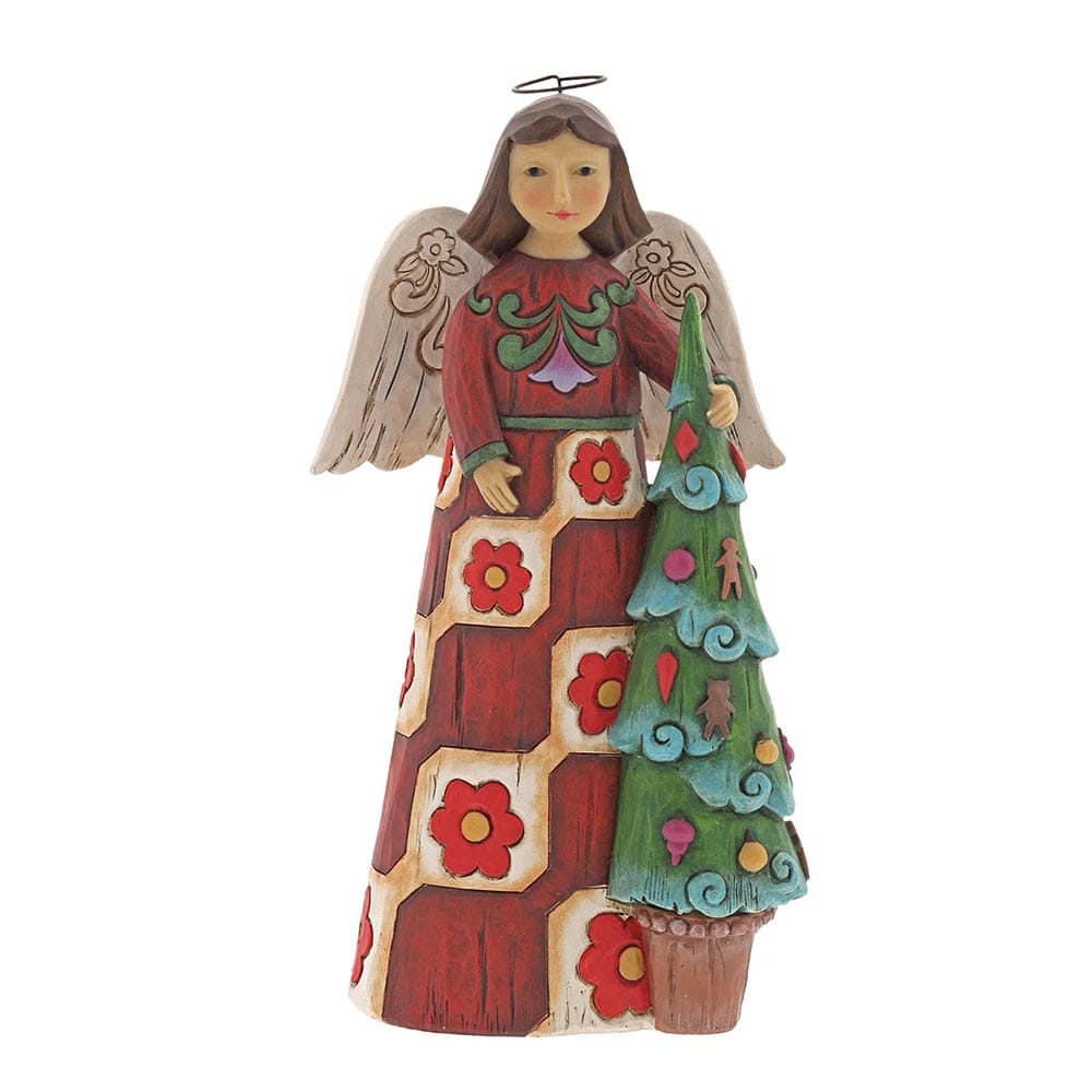 Heartwood Creek by Jim Shore Folklore Angel with Tree Figurine
