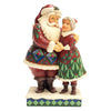 Heartwood Creek by Jim Shore Cutest Christmas Couple (Santa and Mrs Claus Figurine)