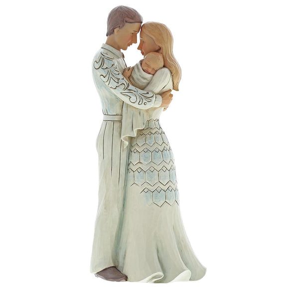 Jim Shore Life's Greatest Blessing (Couple with baby) Figurine
