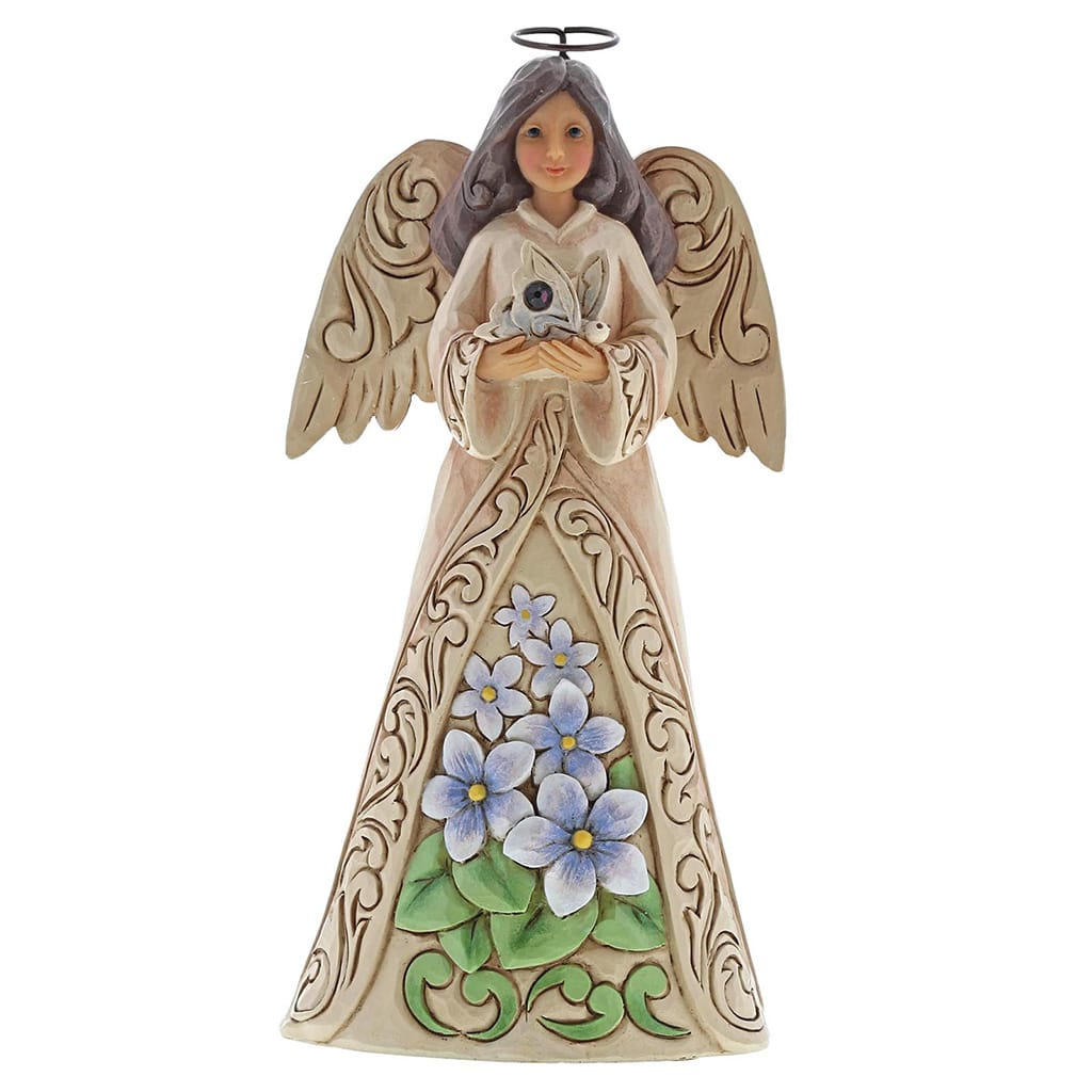 Jim Shore February Angel Figurine