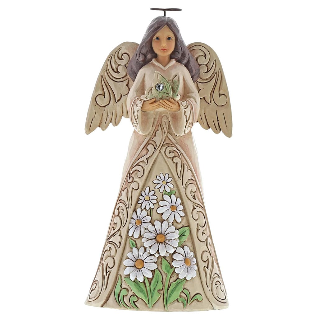 Heartwood Creek by Jim Shore April Birthday Angel Figurine