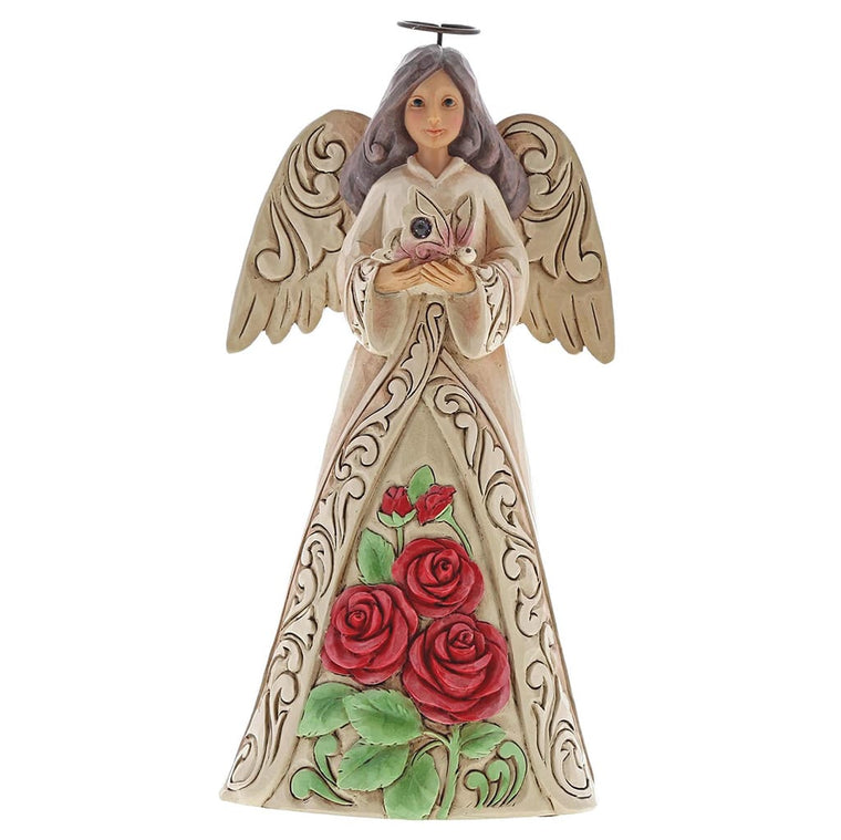 Heartwood Creek by Jim Shore June Birthday Angel Figurine