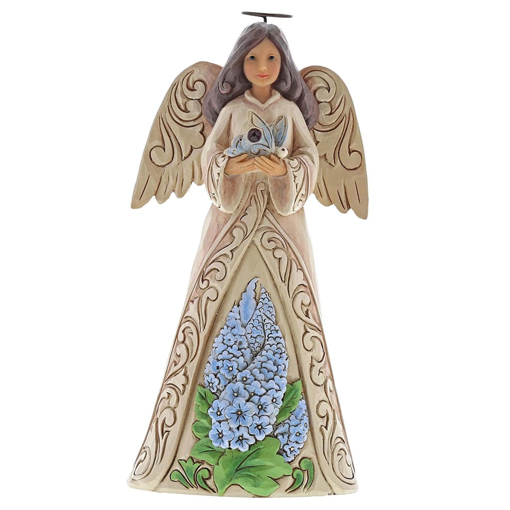 Heartwood Creek by Jim Shore July Birthday Angel Figurine
