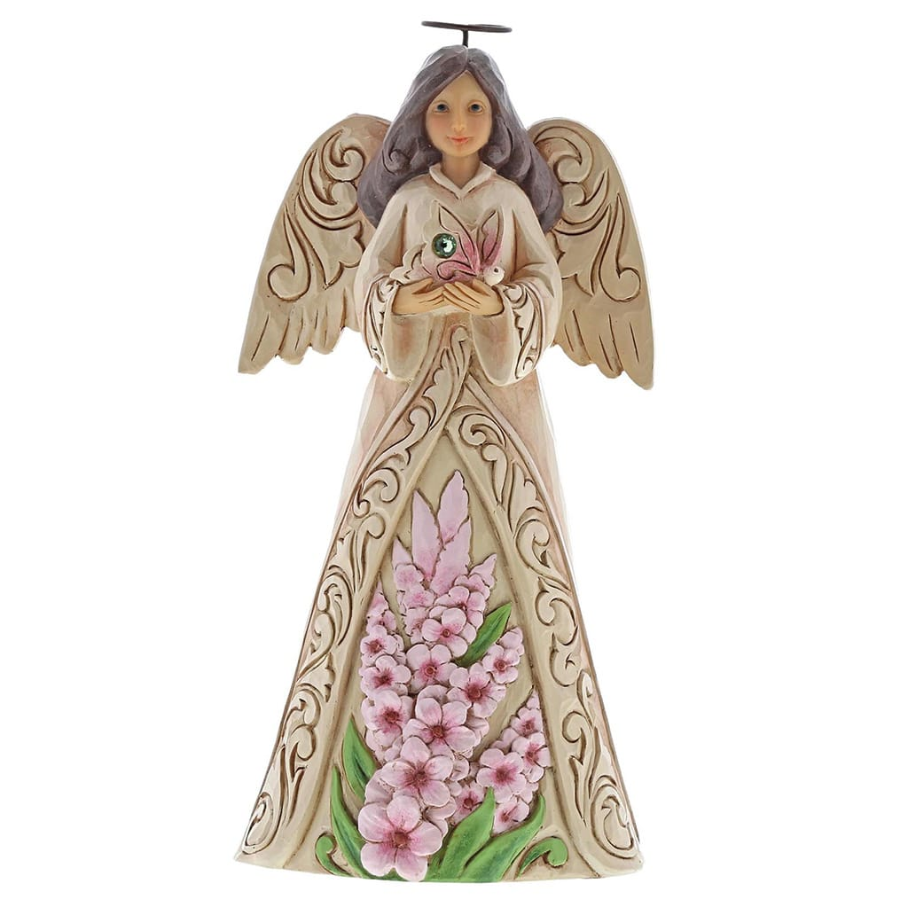 Heartwood Creek by Jim Shore August Birthday Angel Figurine