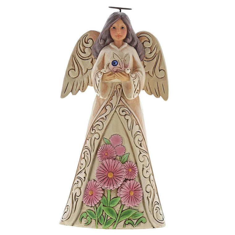Heartwood Creek by Jim Shore September Birthday Angel Figurine