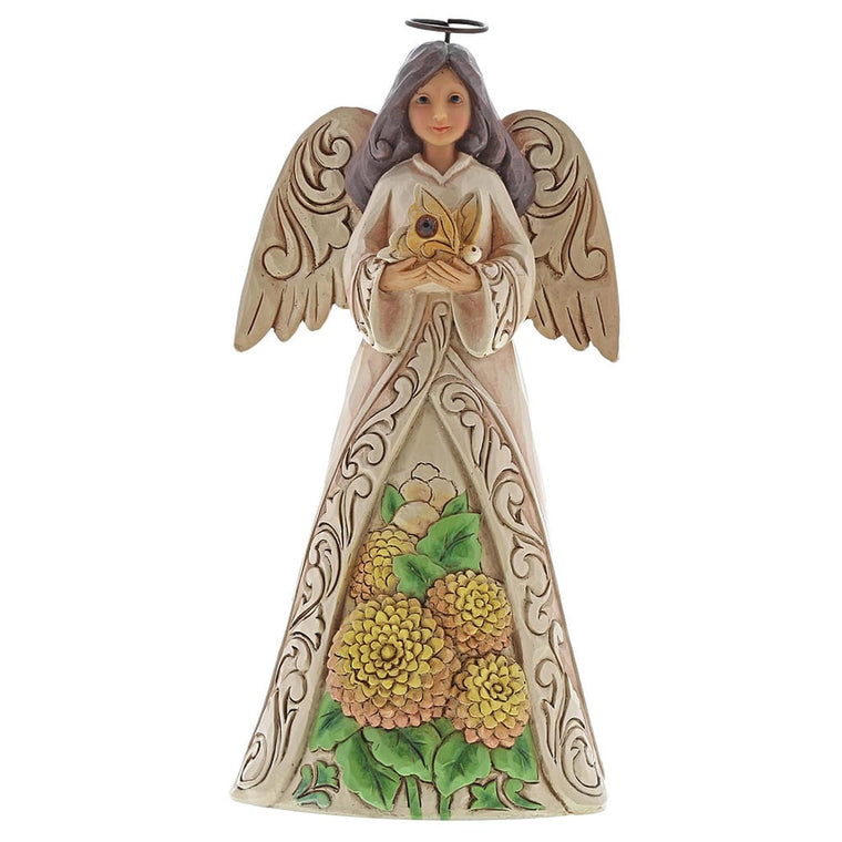 Jim Shore November Angel Figurine
