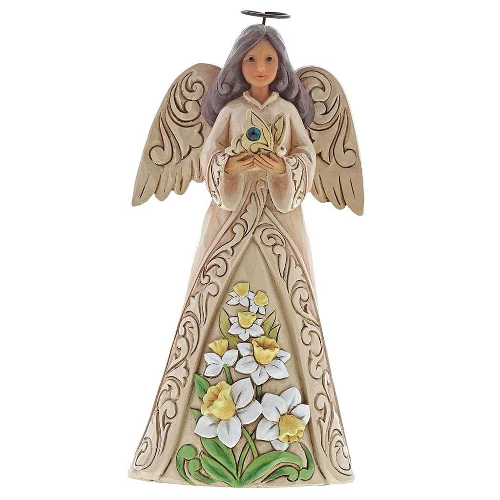 Heartwood Creek by Jim Shore December Birthday Angel Figurine