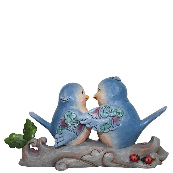 Heartwood Creek by Jim Shore Happiness Together (Lovebirds on Branch Figurine)