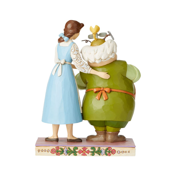 Disney Traditions Devoted Daughter (Belle and Maurice Figurine)