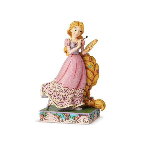 Disney Traditions Adventurous Artist (Rapunzel Princess Passion Figurine)